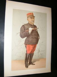 Vanity Fair Print 1896 Edmund Widdrington Byrne, Legal